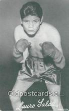 Lauro Salas Boxing Postcard Post Card