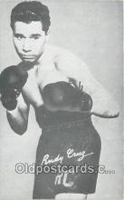 Rudy Cruz Boxing Postcard Post Card
