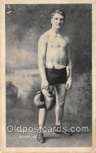 spo005960 - Boxing Postcard Post Card