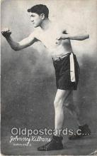 Johnny Kilbane Boxing Postcard Post Card