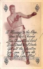 Jack Depseys Restaurant Boxing Postcard Post Card