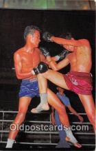 Thai Kick Boxing Boxing Postcard Post Card