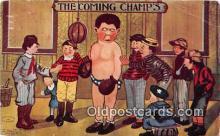 Artist A Beaty Boxing Postcard Post Card
