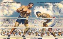 spo005978 - Boxing Postcard Post Card