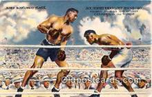 spo005979 - Boxing Postcard Post Card