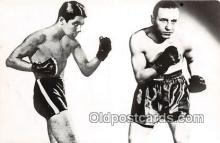 Lucian Popescu, Toma Aurel Boxing Postcard Post Card