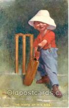 spo006002 - Cricket Postcard Postcards