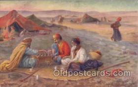 spo007013 - Checkers, Chess Postcard Postcards