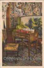 spo007023 - Checkers, Chess Postcard Postcards