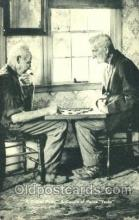 spo007047 - Chess Playing Postcard Postcards