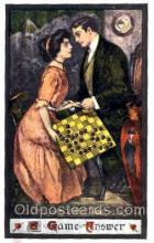 spo007049 - Chess Playing Postcard Postcards