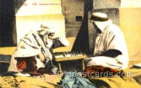 spo007058 - Chess Playing Postcard Postcards