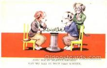 spo007059 - Chess Playing Postcard Postcards
