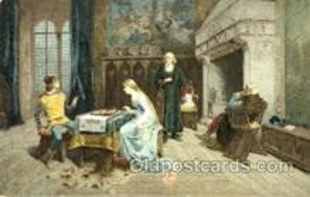 spo007066 - Chess Playing Postcard Postcards