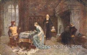 spo007067 - Chess Playing Postcard Postcards