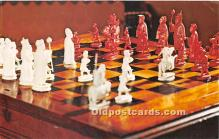 Napoleons Chessmen and Table at Biltmore House & Gardens