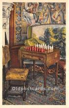 spo007129 - Old Vintage Chess / Checkers Postcard Post Card