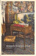 spo007138 - Old Vintage Chess / Checkers Postcard Post Card