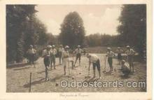 spo008008 - Croquet Postcard Postcards