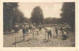 spo008008 - Croquet Postcard Postcards
