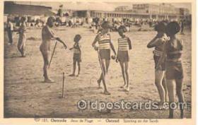 spo008009 - Croquet Postcard Postcards