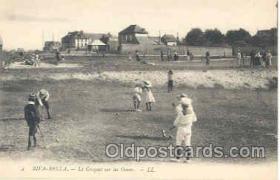 spo008010 - Croquet Postcard Postcards