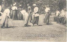 spo008011 - Birmingham Hospital, Croquet Postcard Postcards