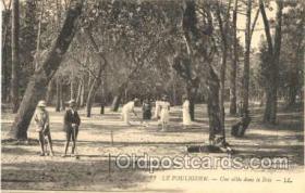spo008014 - Croquet Postcard Postcards