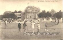 spo008015 - Royan Croquet Postcard Postcards