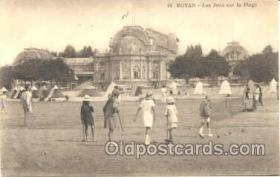 spo008015 - Royan Croquet Postcard Postcards