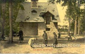spo008016 - Croquet Postcard Postcards