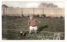 spo008017 - Jimmy the Sportsman, Croquet Postcard Postcards
