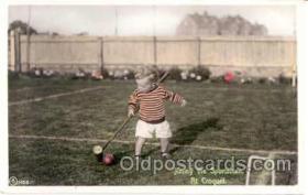 spo008017 - Jimmy the Sportsman, Croquet Postcard Postcards