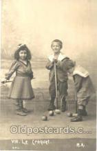 spo008021 - Croquet Postcard Postcards