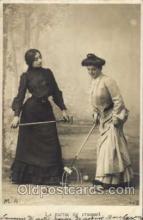 spo008026 - Croquet Postcard Postcards