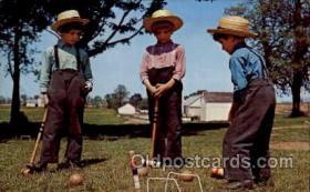 spo008030 - Croquet Postcard Postcards