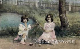 spo008032 - Croquet Postcard Postcards