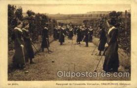 spo008033 - Croquet Postcard Postcards