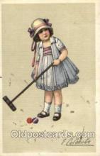 spo008035 - Croquet Postcard Postcards