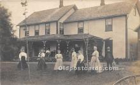 spo008039 - Old Vintage Croquet Postcard Post Card