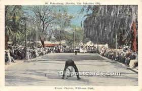 Roque Players, Williams Park