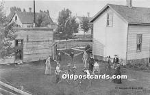 spo008041 - Old Vintage Croquet Postcard Post Card