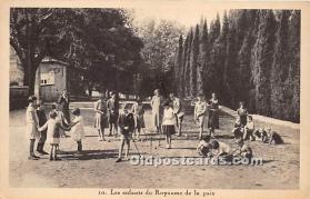 spo008044 - Old Vintage Croquet Postcard Post Card