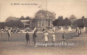 spo008045 - Old Vintage Croquet Postcard Post Card