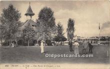 spo008048 - Old Vintage Croquet Postcard Post Card