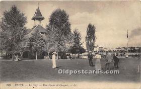 spo008048 - Old Vintage Croquet Postcard Post Card