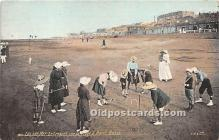 spo008050 - Old Vintage Croquet Postcard Post Card