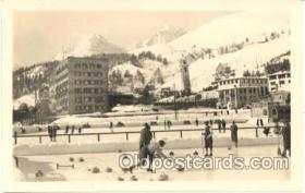 spo009013 - St. Moritz, Curling Postcard Postcards