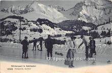 Wintersport in Adelboden