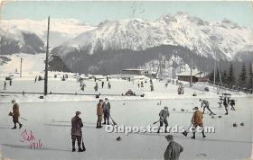 Curling February 1916